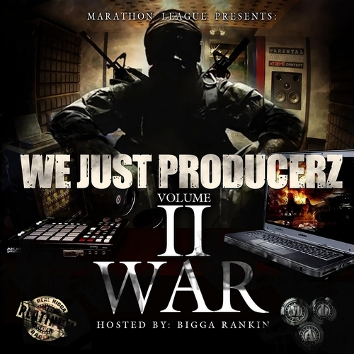 WE JUST PRODUCERZ VOL.2 WRNR - MARATHON LEAGUE